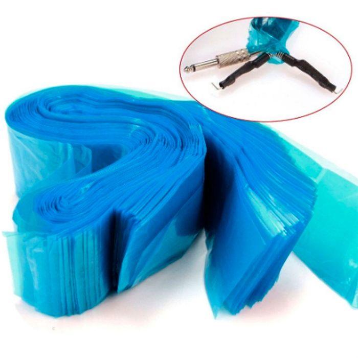 Protetor de Clip Cord Azul- 50 Unidades Protetor de Clip Cord Azul - 50 Unidades