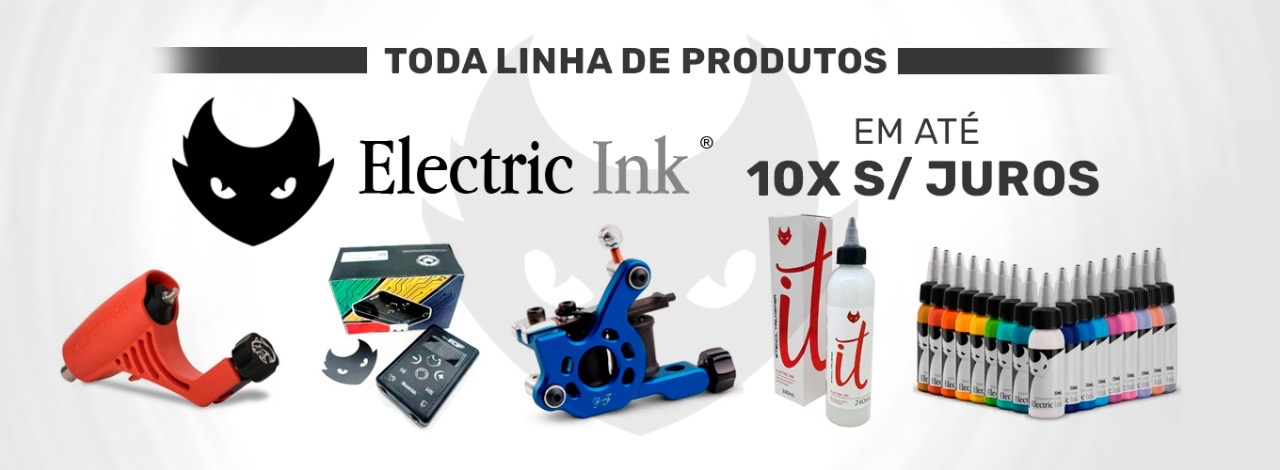 Banner electric ink